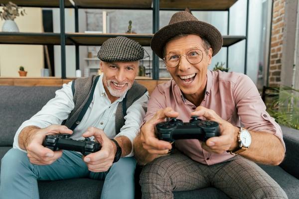Old timer gamers